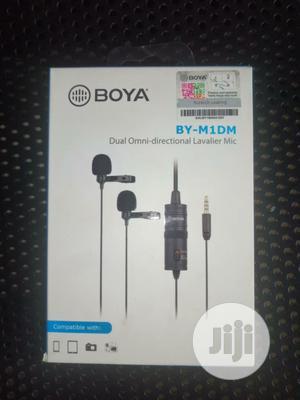 Boya BY-M1DM Dual Omni-directional Lavalier Mic | Audio & Music Equipment for sale in Lagos State, Oshodi