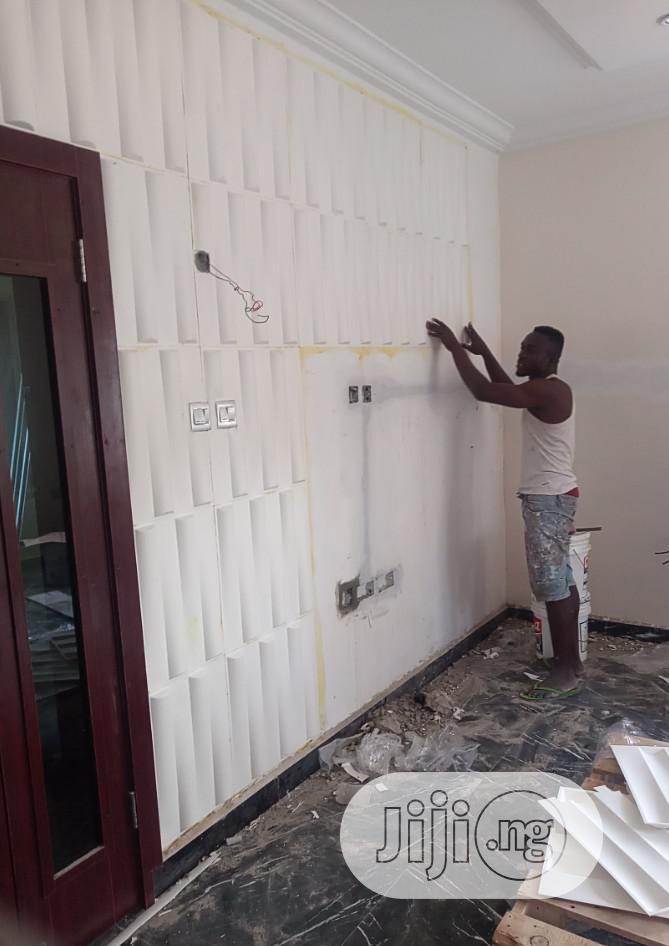 3D Wall Panel Installation And Electrical Installation Work | Building & Trades Services for sale in Ojo, Lagos State, Nigeria