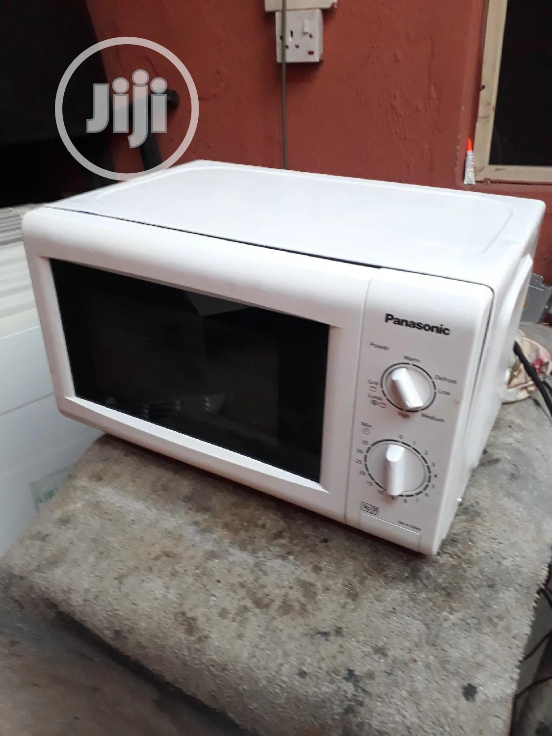 Archive: UK Used Panasonic Microwave With Grill
