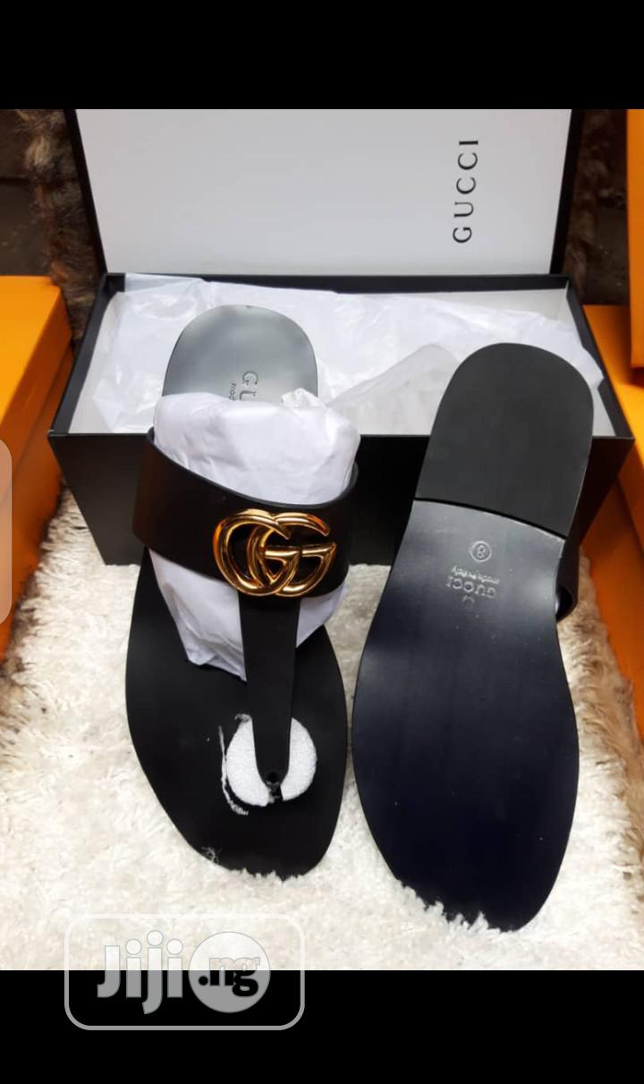 New Quality Gucci Leather Slippers