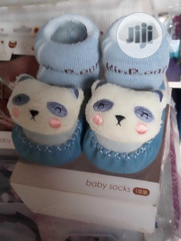 Kin Bear Baby Booties