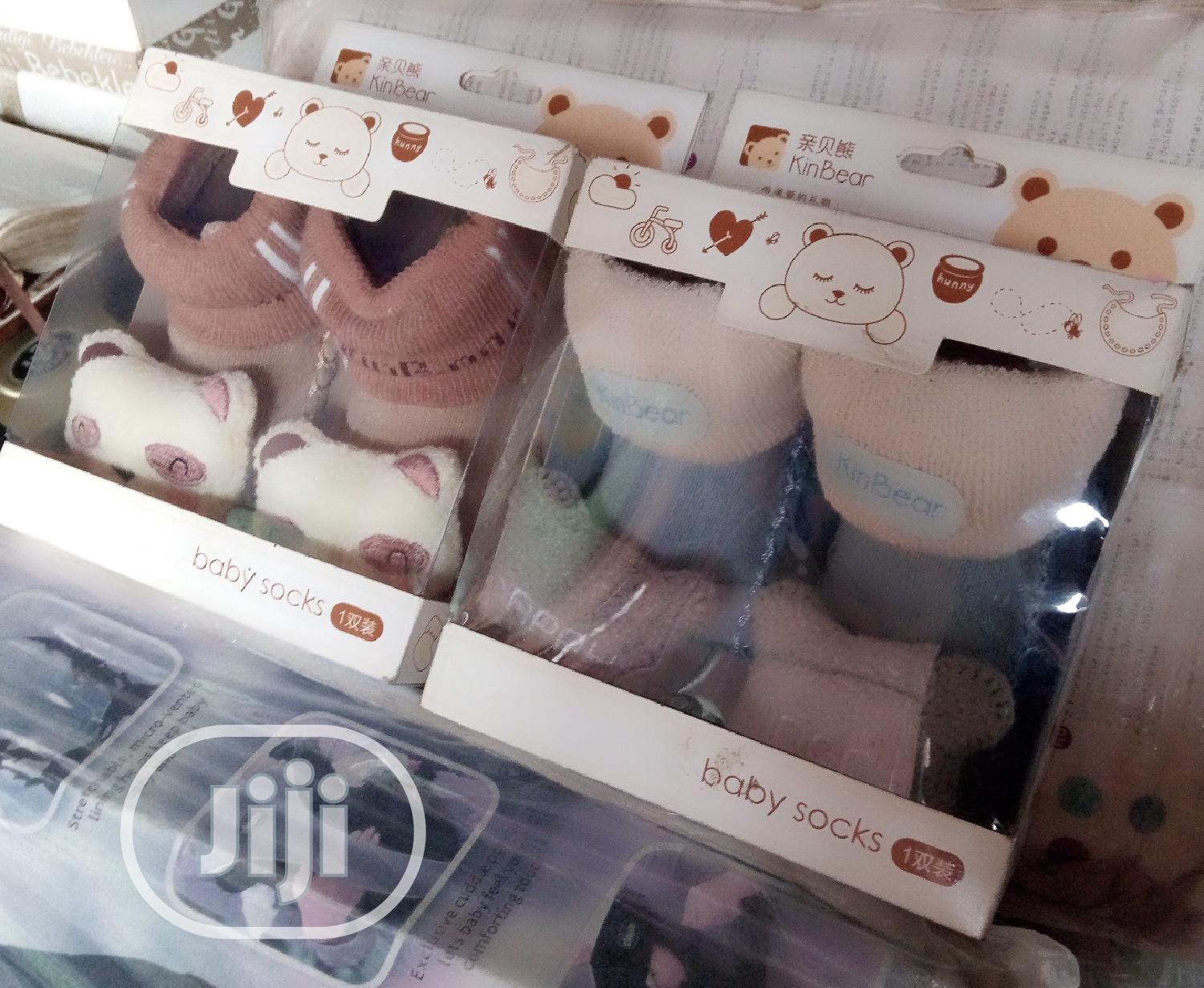 Kin Bear Baby Booties | Children's Clothing for sale in Ajah, Lagos State, Nigeria