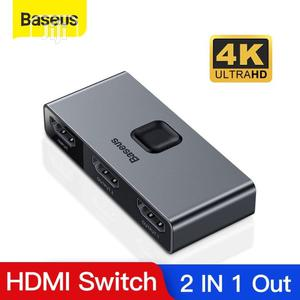 Baseus 4K 60hz HDMI Splitter 2 Ports Bi-direction   Accessories & Supplies for Electronics for sale in Lagos State, Ikeja