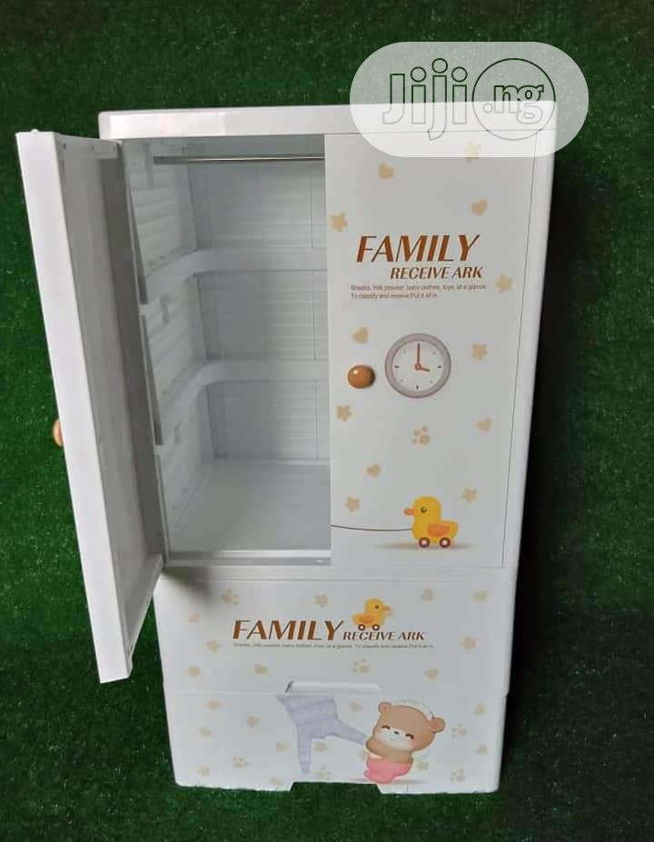 Archive: Plastic Baby Cabinet/ Walldrope Hanger and 2 Drawer Layer
