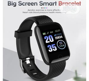 Waterproof Smart Bracelet Wristwatch For Men And Women | Smart Watches & Trackers for sale in Lagos State, Ajah