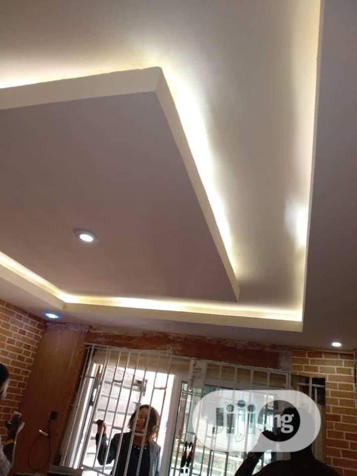 Pop Design,Wall Screeding,Wall Paper And 3D Panel | Building & Trades Services for sale in Ewekoro, Ogun State, Nigeria
