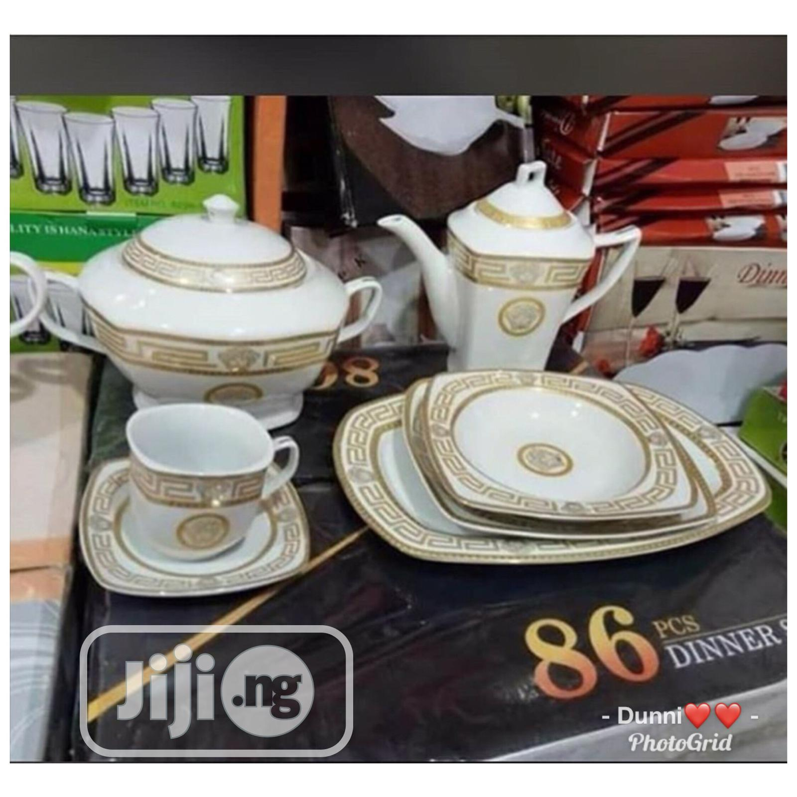 86pcs Exquisite Versace Dinnerware | Kitchen & Dining for sale in Lagos Island (Eko), Lagos State, Nigeria