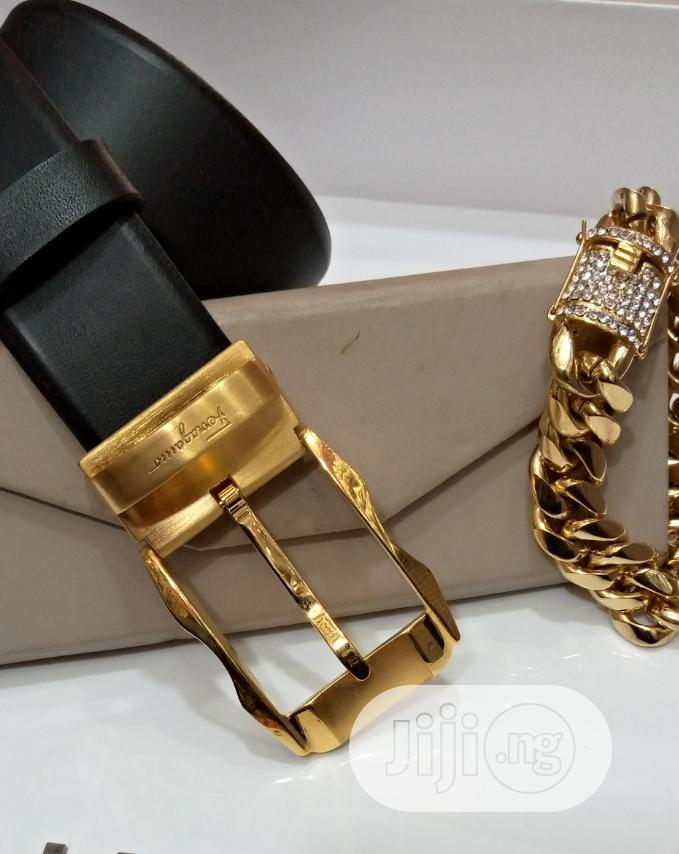 Belts and CUBAN Chain | Clothing Accessories for sale in Lagos Island (Eko), Lagos State, Nigeria
