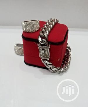 Brazilian Silver Cuban Chain   Jewelry for sale in Lagos State, Lagos Island (Eko)