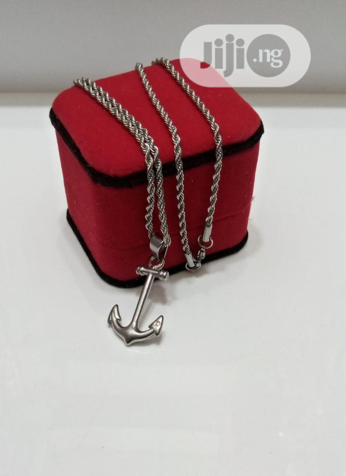 Anchor Silver Chain