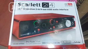 SCARLETT 2i4 Usb   Audio & Music Equipment for sale in Lagos State, Ikeja