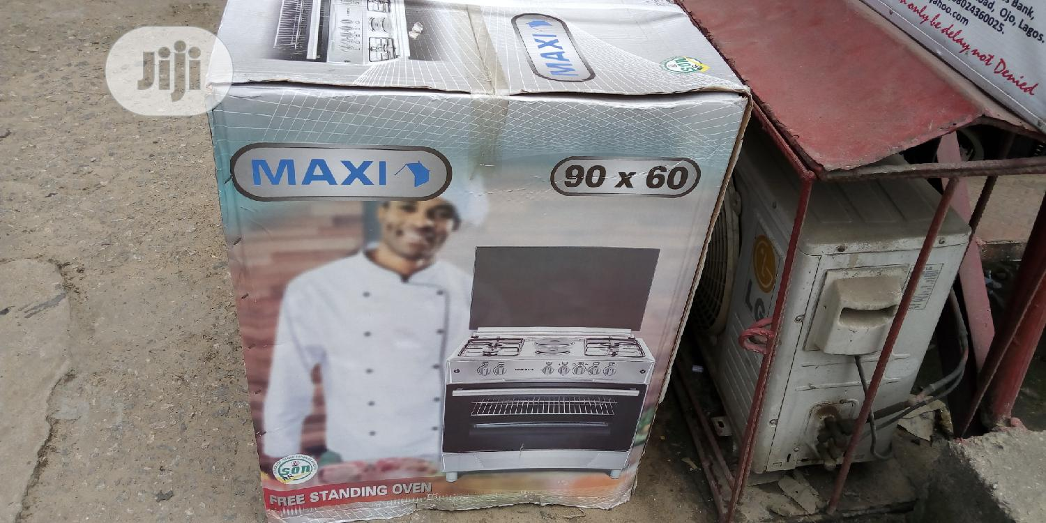 Archive: Maxi 60*90 4 Gas + 2 Electric Auto-ignition INOX Gas Cooker