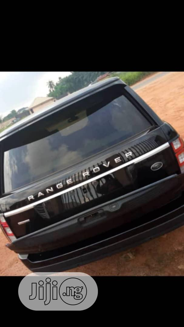 Land Rover Range Rover Vogue 2015 Black   Cars for sale in Ikeja, Lagos State, Nigeria