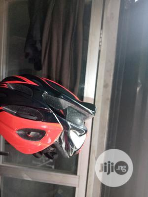 Bicycle Helmet With Light | Sports Equipment for sale in Lagos State, Surulere