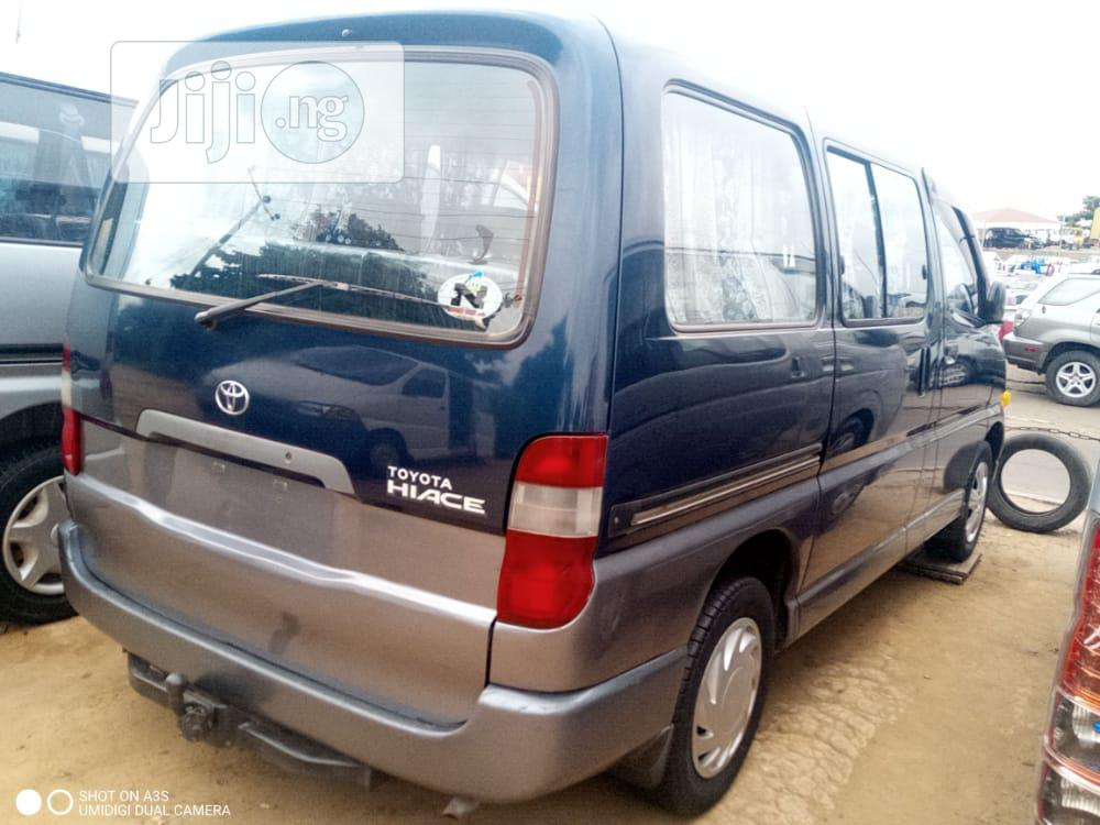 Toyota Hiace 2002 Blue   Buses & Microbuses for sale in Apapa, Lagos State, Nigeria