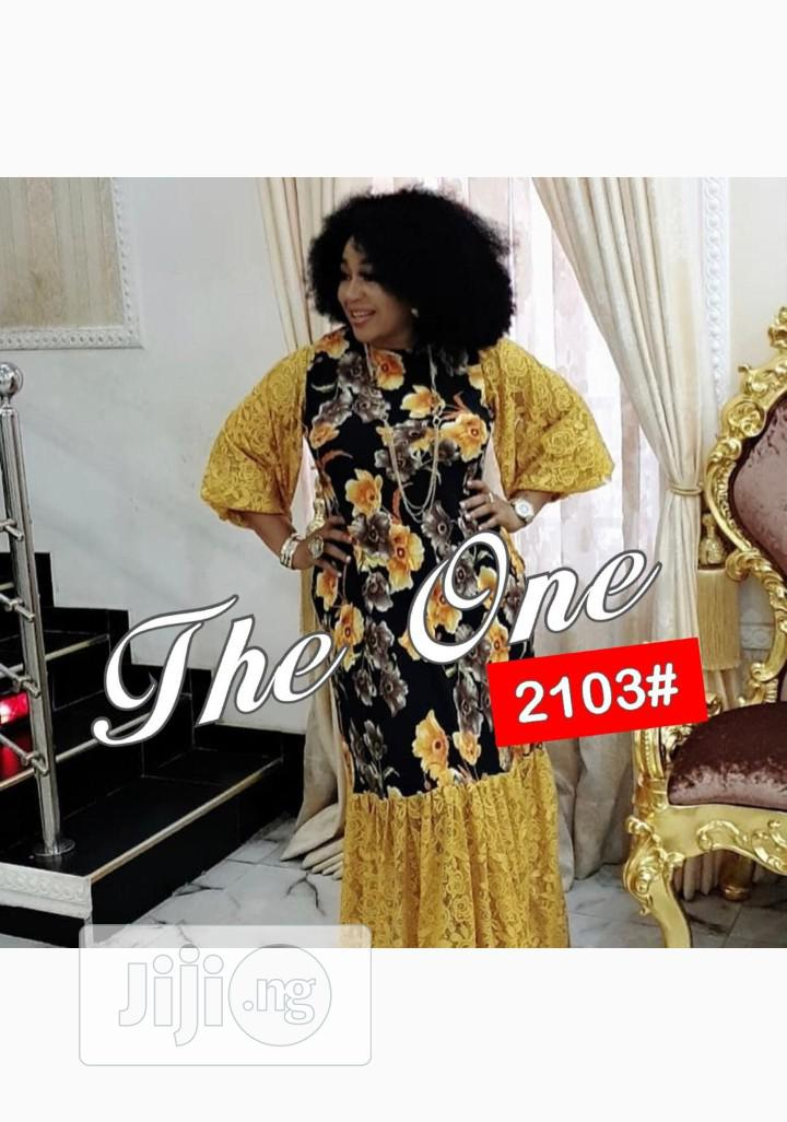 Quality Female Printed Long Dress | Clothing for sale in Ikeja, Lagos State, Nigeria
