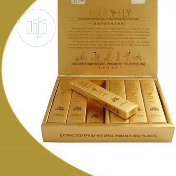 Original-spanish Gold Fly( Sex Drive, Libido )Full Pack | Sexual Wellness for sale in Ikoyi, Lagos State, Nigeria