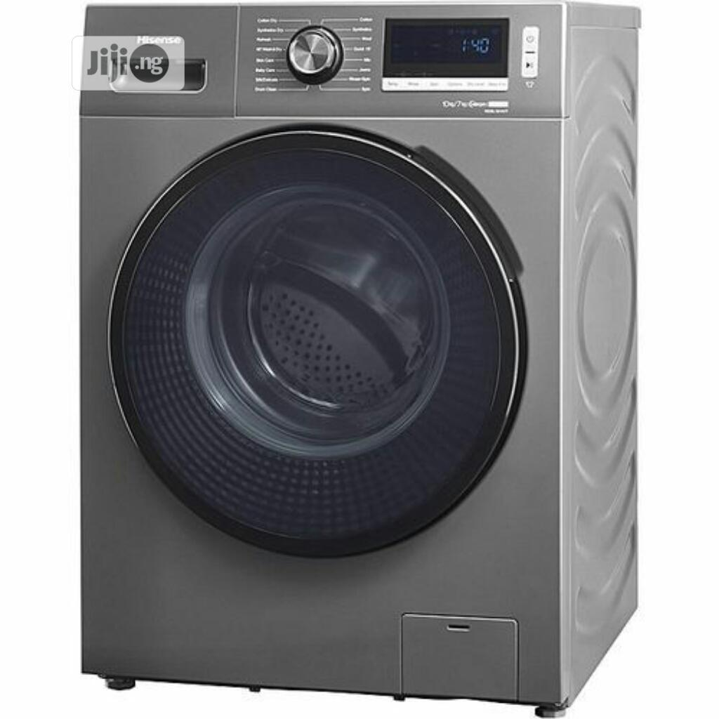 Hisense Automatic Front Loader Wash Dry Machine,10kg/7kg