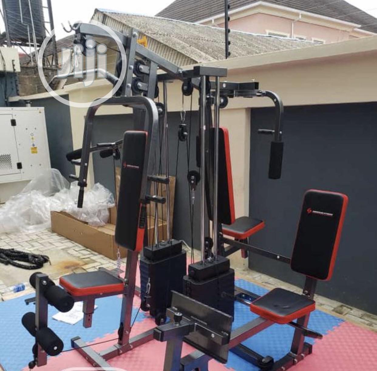 4 Station Gym Set