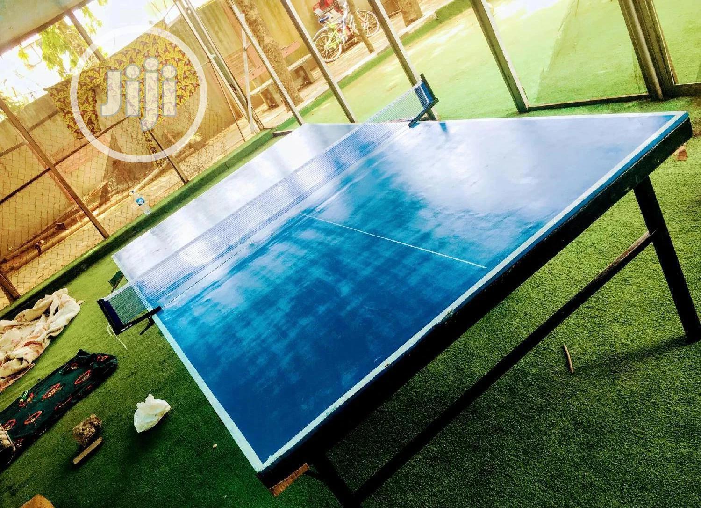 Table Tennis Board (Nigerian Made) Indoor