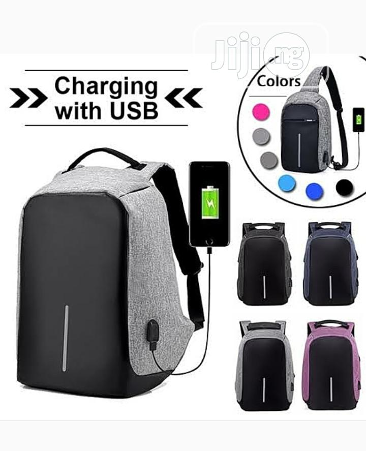 Waterproof Anti Theft Multi Functional Backbag With USB Port