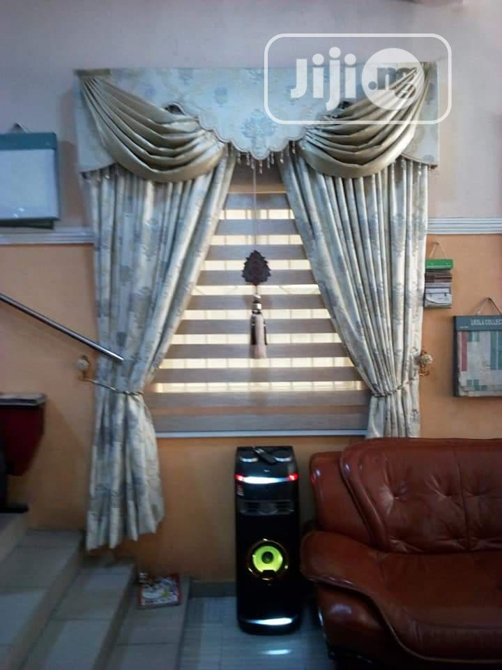Curtain With Blind for Inner