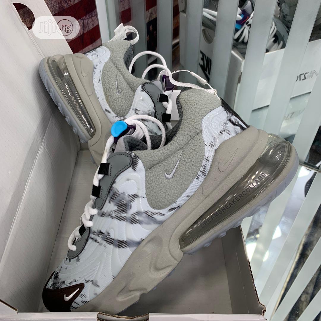 Travis Scott X Nike Air Max 270 Cactus Mesh Original   Shoes for sale in Surulere, Lagos State, Nigeria