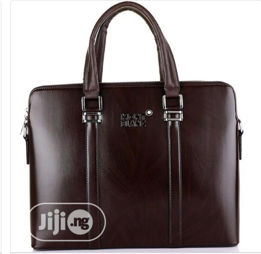 Mont Blanc Leather Office Bag Available as Seen Order Yours