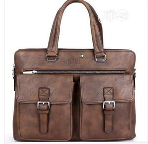 Mont Blanc Leather Office Bag Available as Seen Order Yours | Bags for sale in Lagos State, Lagos Island (Eko)