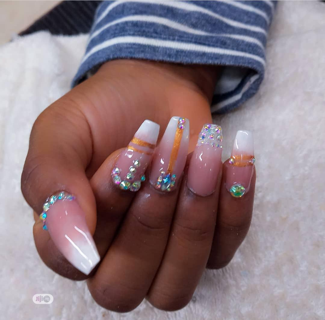 Archive: Makeup And Gele ,Nails, Pedicure And Manicure, Facial