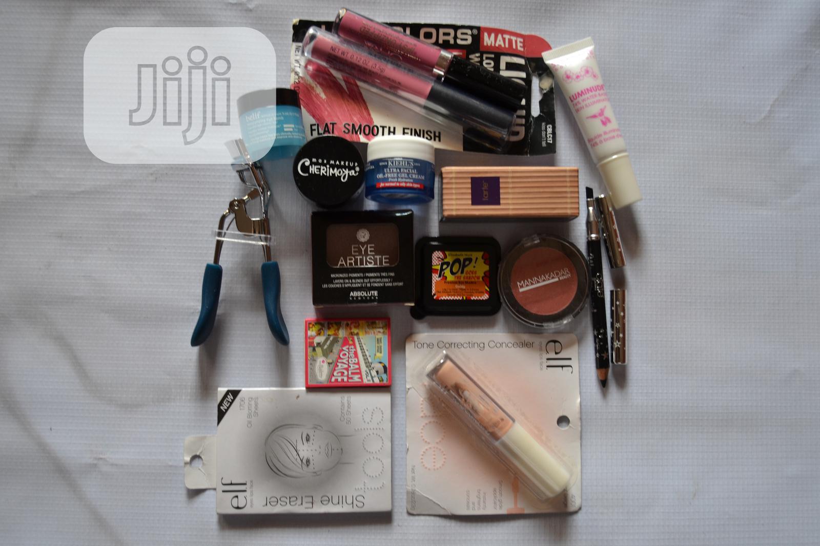 Set of Face Makeup