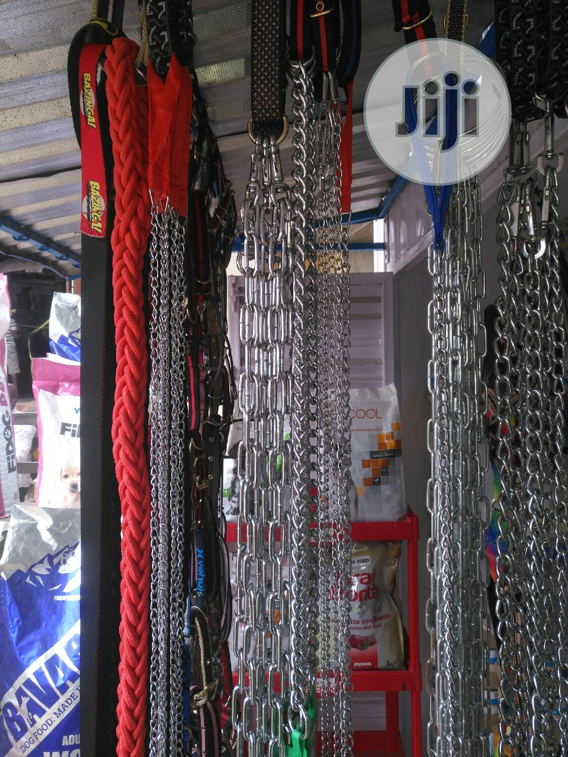 Dog Chain And Leach | Pet's Accessories for sale in Agege, Lagos State, Nigeria