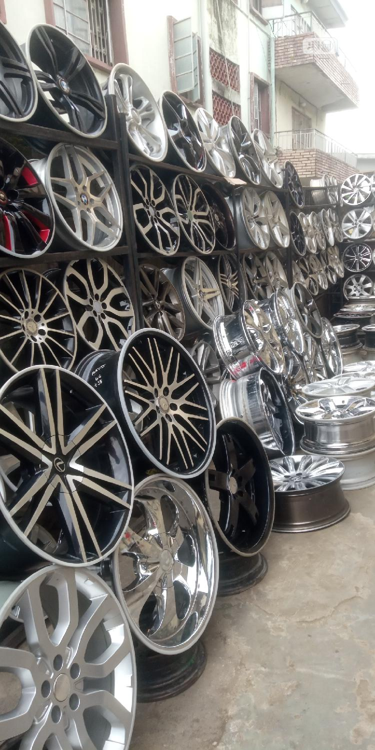 Home for All Kinds of Alloyed Wheels and Tires | Vehicle Parts & Accessories for sale in Mushin, Lagos State, Nigeria
