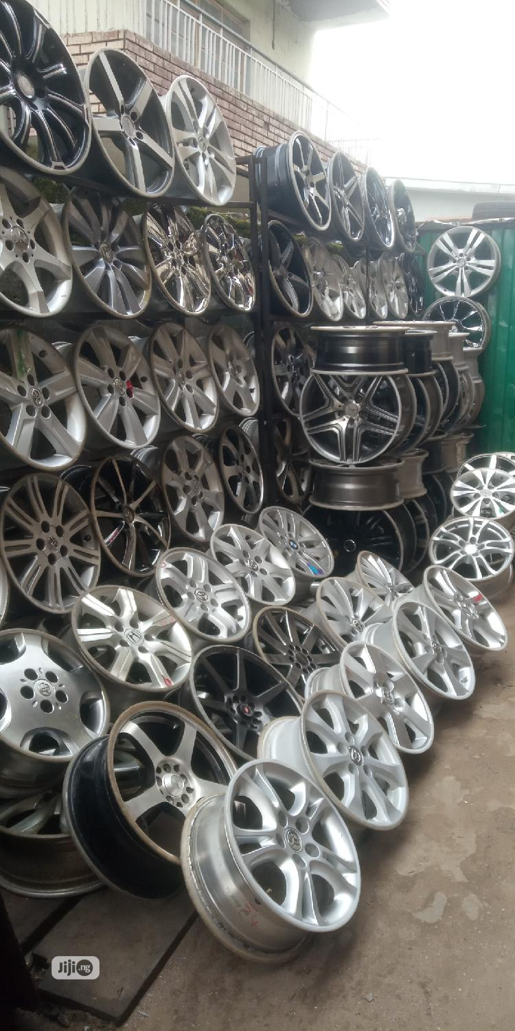 Home for All Kinds of Alloyed Wheels and Tires