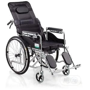 Collapsibl Wheel Chair | Medical Supplies & Equipment for sale in Lagos State, Mushin