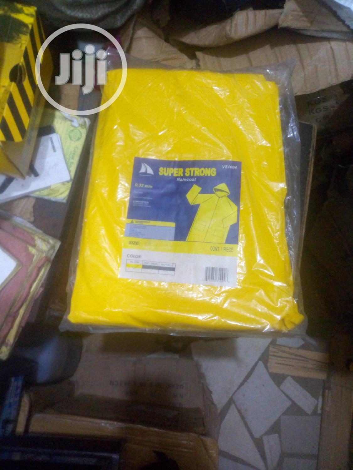 Safety Super Strong Rain Coat High Quality
