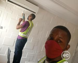 Sales Installation of Beautiful Wallpapers | Building & Trades Services for sale in Abuja (FCT) State, Lokogoma