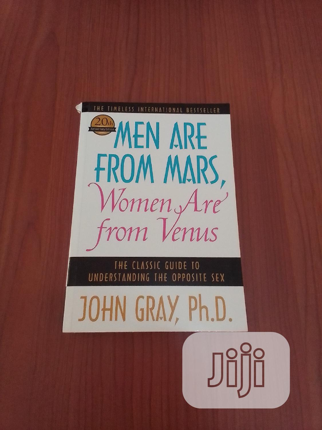 Archive: Men Are From Mars, Women Are From Venus