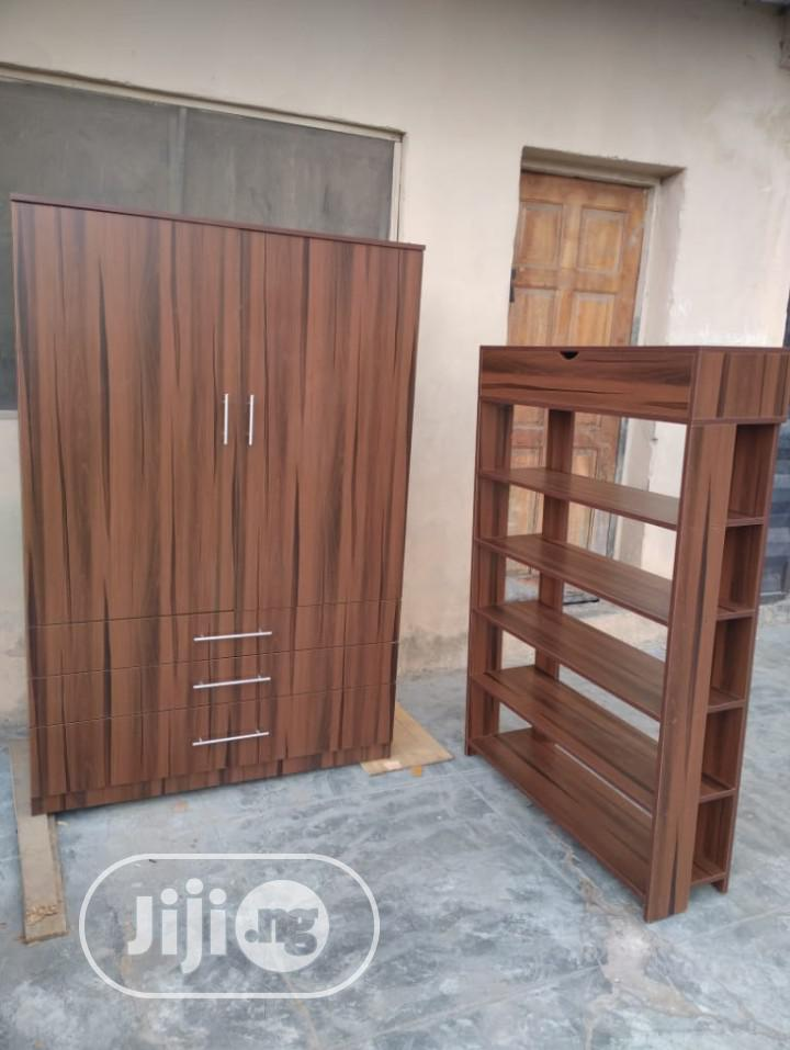 Archive: High Quality Wardrobe With Shoe Rack