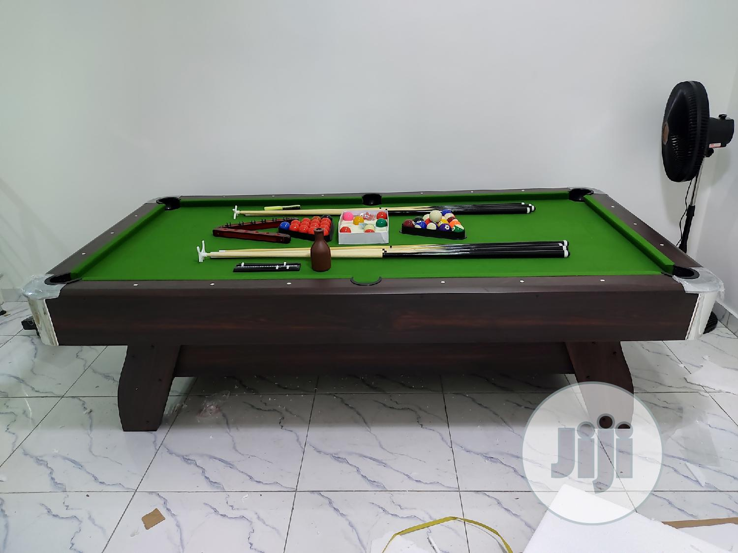 Archive: 8ft Snooker Table