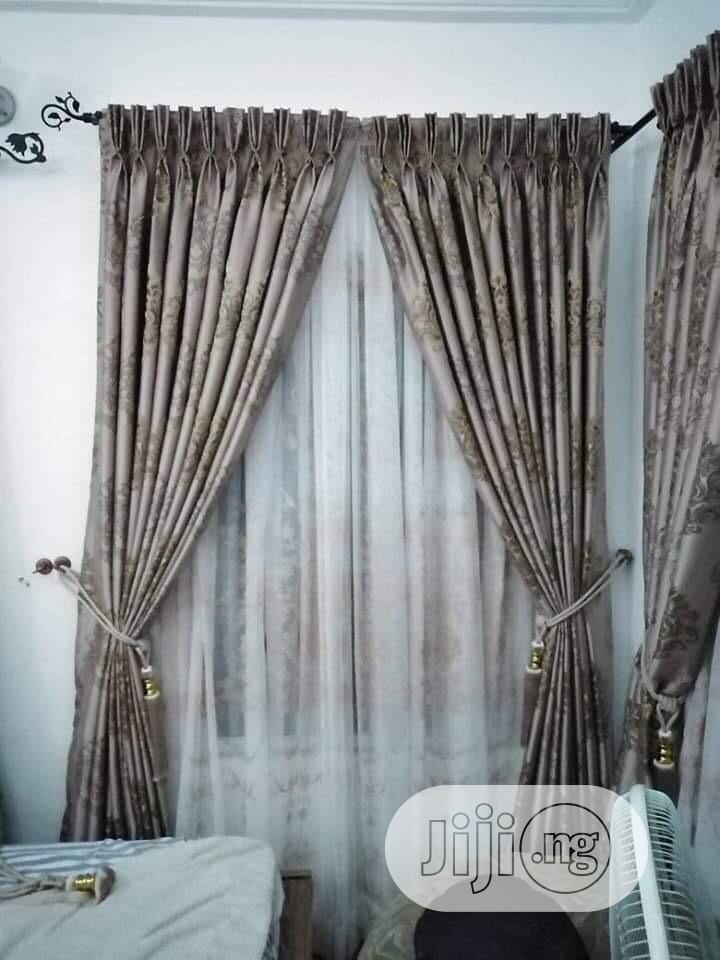 Quality and Beautiful Curtains Available for Your Homes Etc | Home Accessories for sale in Surulere, Lagos State, Nigeria