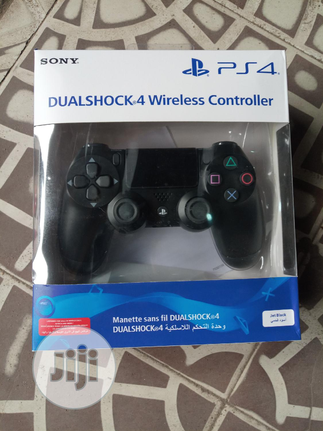 Sony PS4 Dual Shock 4 Wireless Controller | Accessories & Supplies for Electronics for sale in Ojo, Lagos State, Nigeria