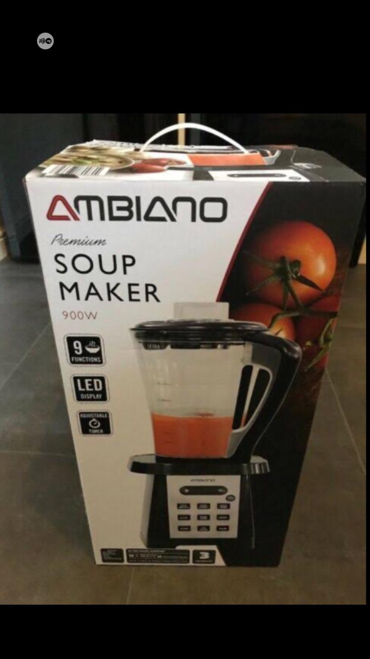 Archive: 900W Ambiano Soup Maker