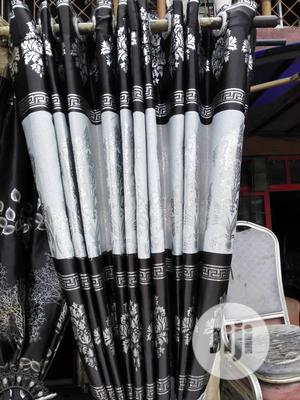 Black And White Curtain | Home Accessories for sale in Lagos State, Ojo