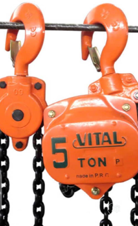 Manual Chain Block Available In 5ton, 3ton, 2ton, 1ton