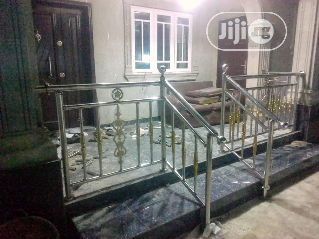Non-Rusting Stainless Steel Handrails | Building & Trades Services for sale in Ajah, Lagos State, Nigeria