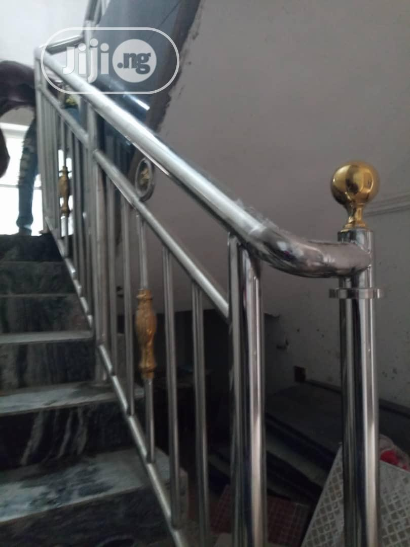 Non-Rusting Stainless Steel Handrails