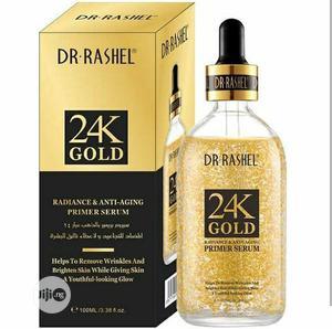 Dr Rashel 24K Gold Radiance Anti Aging Primer Serum | Skin Care for sale in Lagos State, Amuwo-Odofin