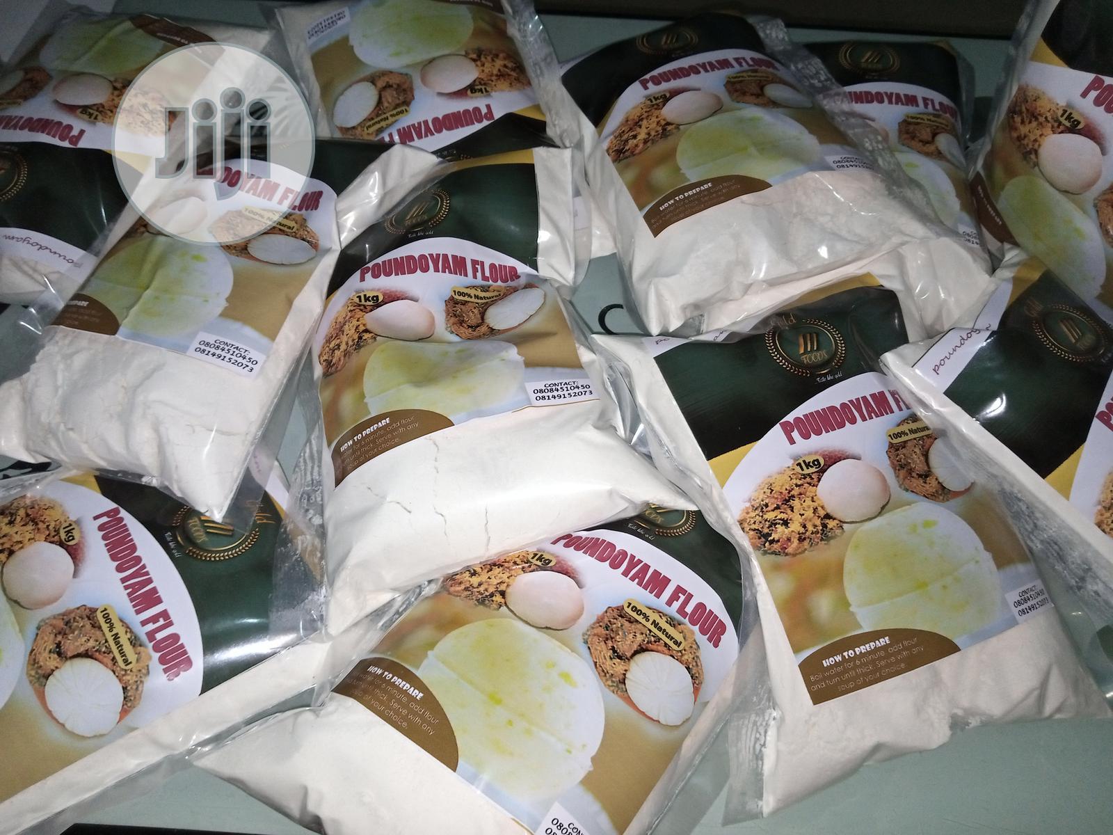 Archive: Poundo Yam Flour (Iregold) Per 1