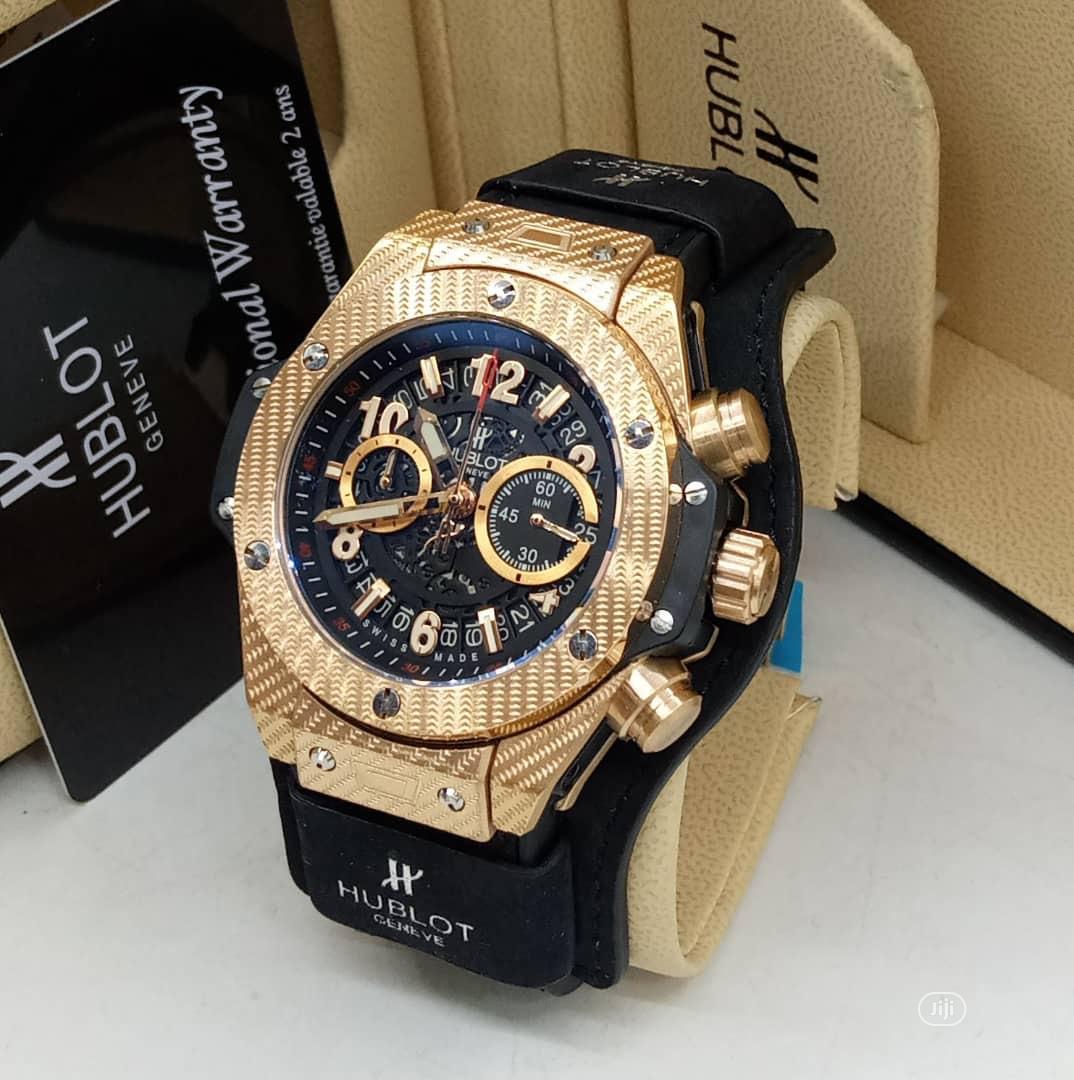 Hublot Geneve Watch in Surulere - Watches, Brothersman Worldwide Ventures    Jiji.ng